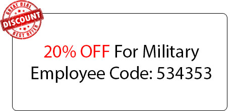 Military Employee Coupon - Locksmith at Zion, IL - Zion Il Locksmith