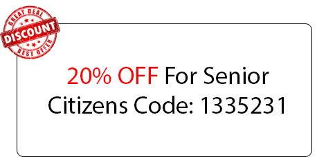 Senior Citizens Coupon - Locksmith at Zion, IL - Zion Il Locksmith